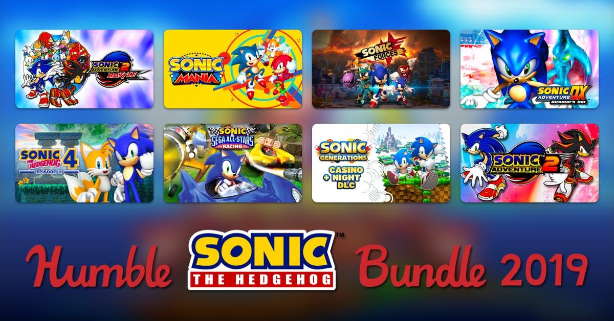HUMBLE SONIC BUNDLE 2019 (Steam) ab 0,91€