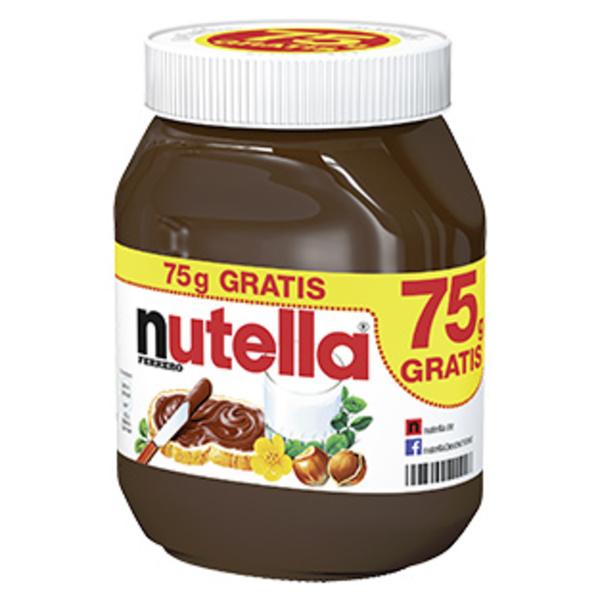 [REWE] Nutella 825g für 2,77 oder mit Payback 2,64 Euro