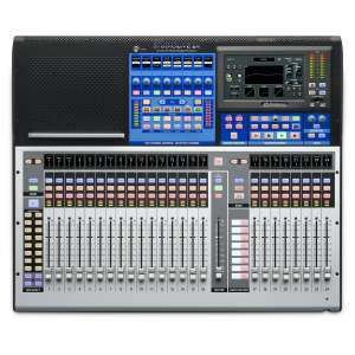 Presonus StudioLive 24 Series III: Digitalmixer (38x38 USB Interface, 55x55 AVB Interface, 25 Motorfador, 24 DCA-Gruppen,