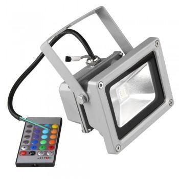 10W RGB LED Farbwechsel Strahler Scheinwerfer (+ Geschenk) für 21€ statt 25,95€