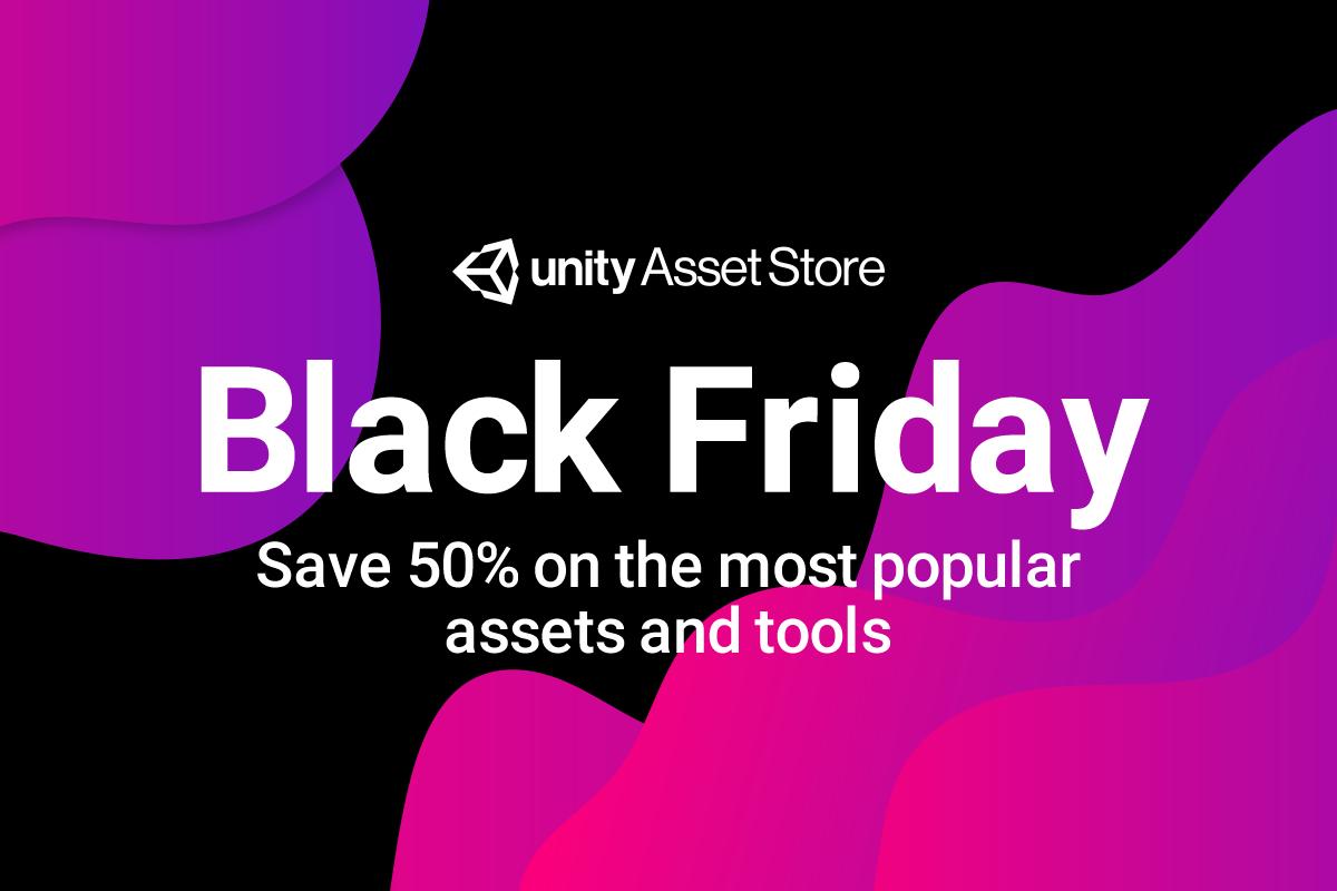 Unity Asset Store - 50% auf über 400 Assets - 70% auf täglich wechselnde High-Value-Assets