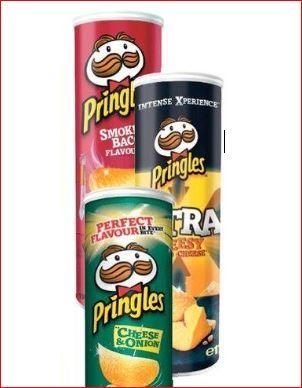 Pringles Chips, verschiedene Sorten für 1,11 Euro [Jawoll]
