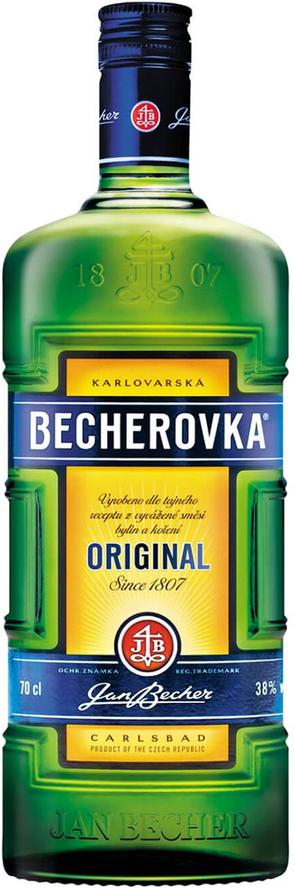Becherovka 0,7l (10,90€ inkl. Versand)