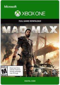 Mad Max (Xbox One Digital Code) für 4,92€ (Xbox Store US Live Gold)