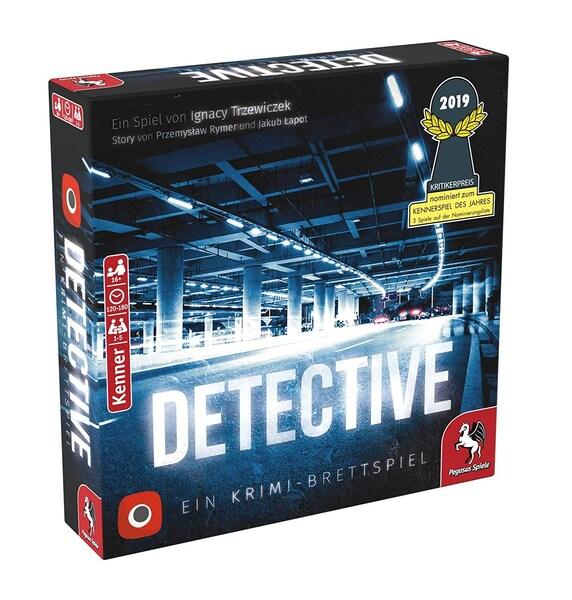 Detective: Ein Krimi-Brettspiel (nominiert zum Kennerspiel 2019) für 22,09€ auf bol.de