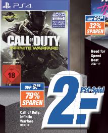 [lokal: Expert ESC / Expert Technikmarkt] Call of Duty: Infinite Warfare PS4 für 2€ | Rage 2 PS4 / Xbox One für 18€