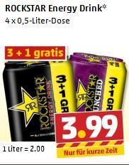 [Offline] Penny Rockstar Energy Drink 4 x 0,5l