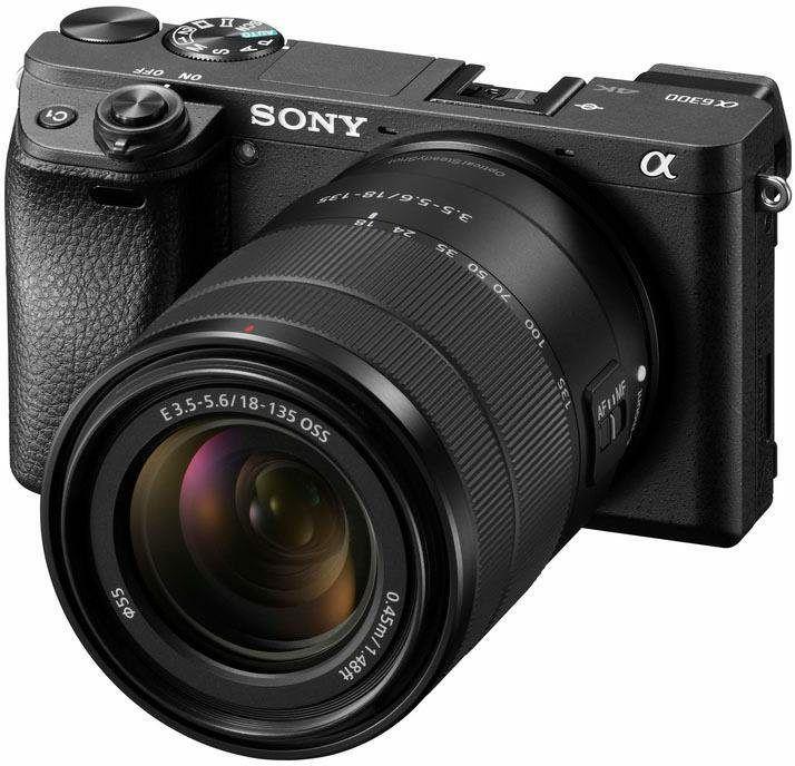 "[Schweiz] Sony Alpha 6300 E-Mount Systemkamera (24MP, 3"" Display, XGA OLED Sucher, Kit 18-135mm Objektiv)"