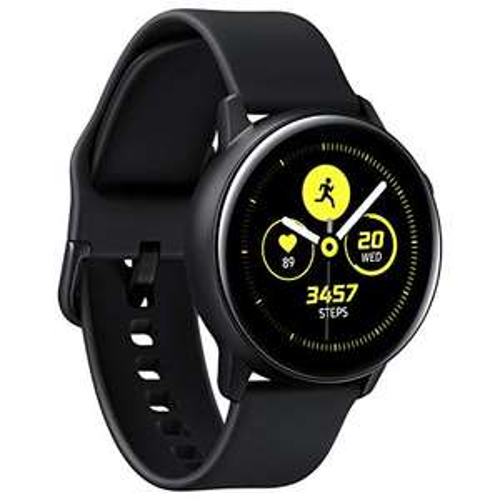 Samsung Galaxy Watch Active, Schwarz (UK Version, Tizen OS, AMOLED) [Amazon]