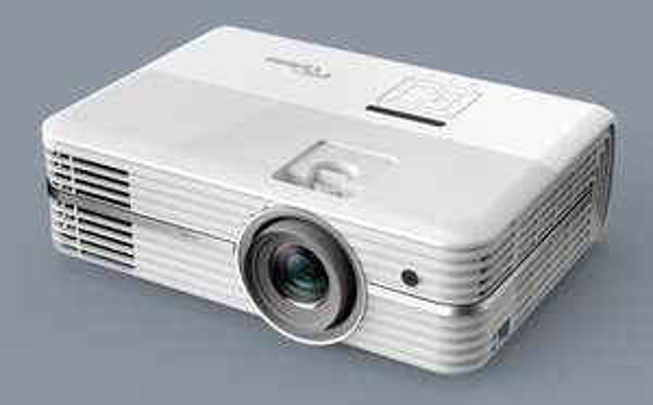 Optoma UHD40 4k Beamer UHD, 2.400 ANSI Lumen, 500.000:1 Kontrast, Lens Shift, 1.3x Zoom, 2x HDMI