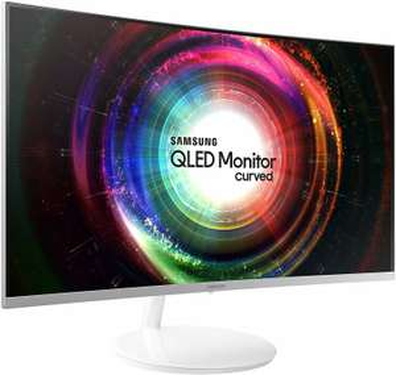 Samsung Monitor C27H711 Monitor 27'' Quantum Dot WQHD, 2560 x 1440, 4 ms, FreeSync, Mini-DisplayPort, HDMI