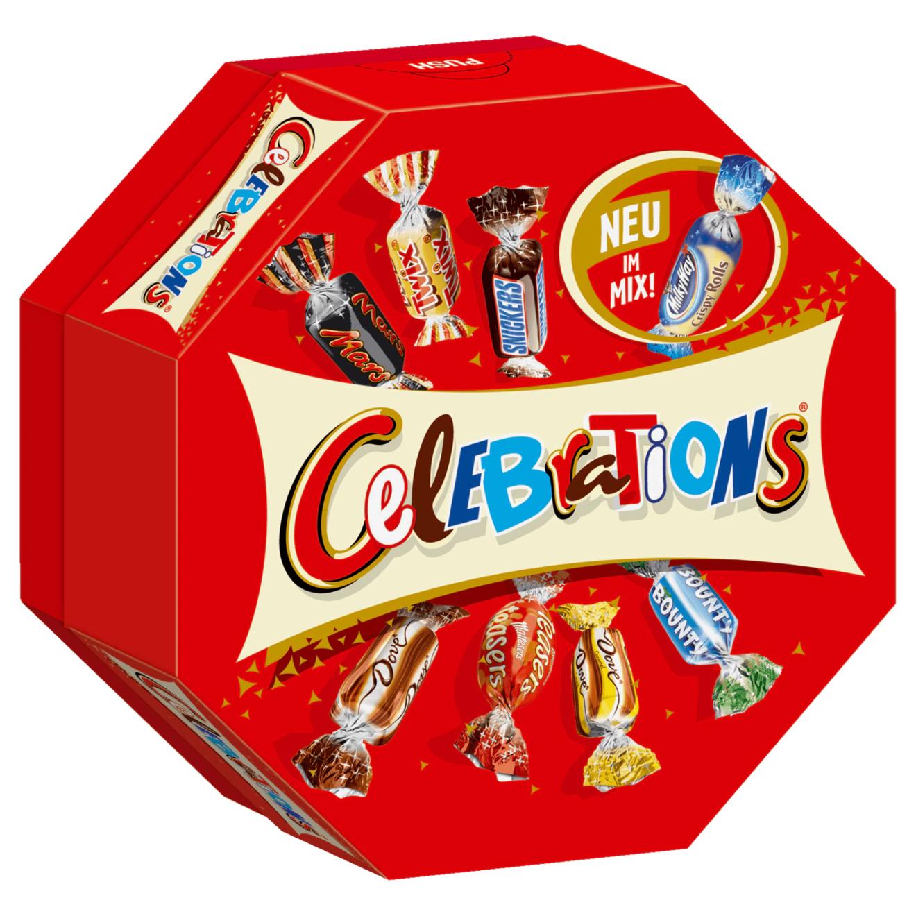 Celebrations 186g & Amicelli für 1,69€ mit 10% Coupon [ab 02.12. Rossmann]