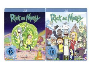 Rick & Morty - Staffel 1+2 Blu-ray zusammen für nur 17,88€ inkl. Versand(Staffel 3 für zusätzlich 9,94€)