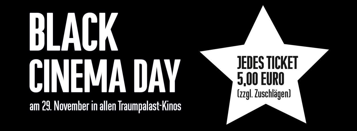[Lokal Raum Stuttgart + Biberach] Black Cinema Day in den Traumpalast Kinos 29.11. ab 5 €!