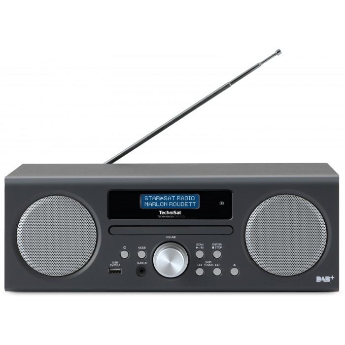 TechniSat TECHNIRADIO DIGIT CD - Digitalradio (10 Watt RMS, DAB+, DAB, PLL-UKW Tuner, CD/MP3 Player, USB)