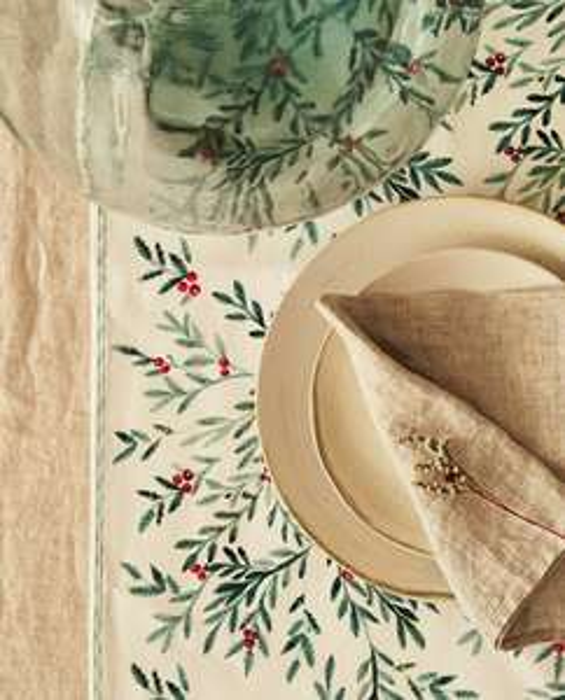 20% Rabatt auf die gesamte Winterkollektion + kostenfreier Versand bei Zara Home, z.B. Tischläufer aus Baumwolle