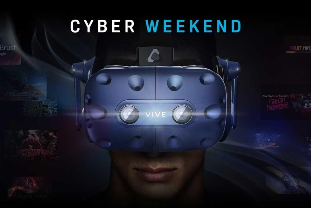HTC Vive / Cosmos VR Brilen Cyberweek 29.11.-02.12.