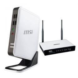 [Online] MSI Wind Box DC100-WE4504G8GXX inkl. gratis MSI WLAN Router 11n RG300EX ADSL+ WLAN BOX