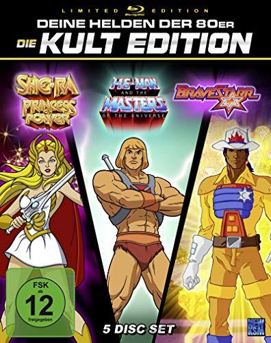Deine Helden der 80er - Die Kult Edition He-Man + She-Ra + BraveStarr (Limited Edition Blu-ray) für 59,97€ (Amazon)