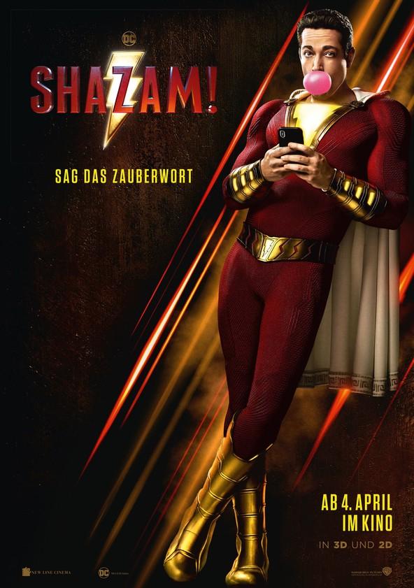 Shazam! zum Leihen (HD) für 1,90€ [Chili.tv]