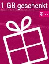 MeinMagenta App nutzen – 1 GB zusätzliches Datenvolumen geschenkt bekommen [Telekom]