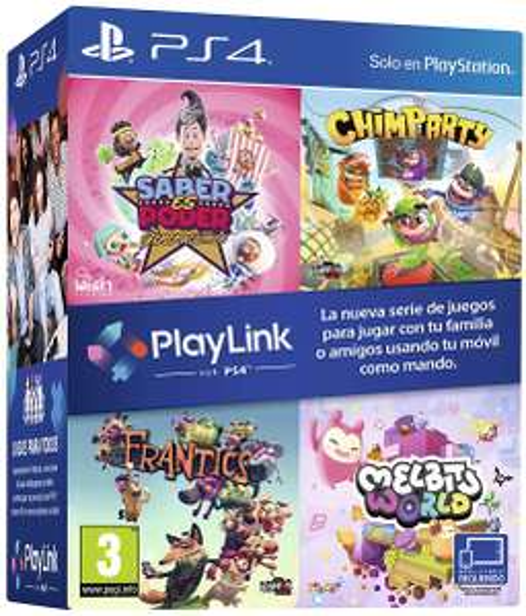 PlayLink Bundle Wissen ist Macht: Dekaden, Chimparty, Frantics & Melbits World (PS4) für 33,81€ (Amazon ES)