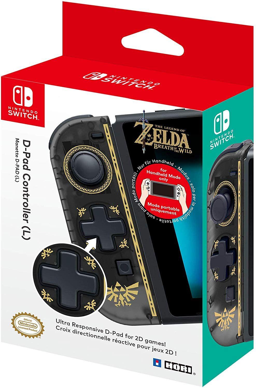 Hori Nintendo Switch D-Pad Controller (L)The Legend of Zelda: Breath of the Wild [Amazon.it]