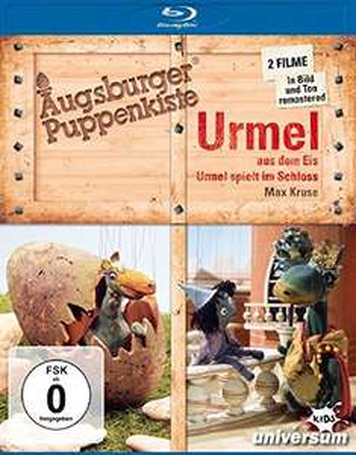 Augsburger Puppenkiste: Urmel aus dem Eis + Urmel spielt im Schloss (Doppelset Blu-ray) für 9,97€ (Amazon Prime & Dodax)