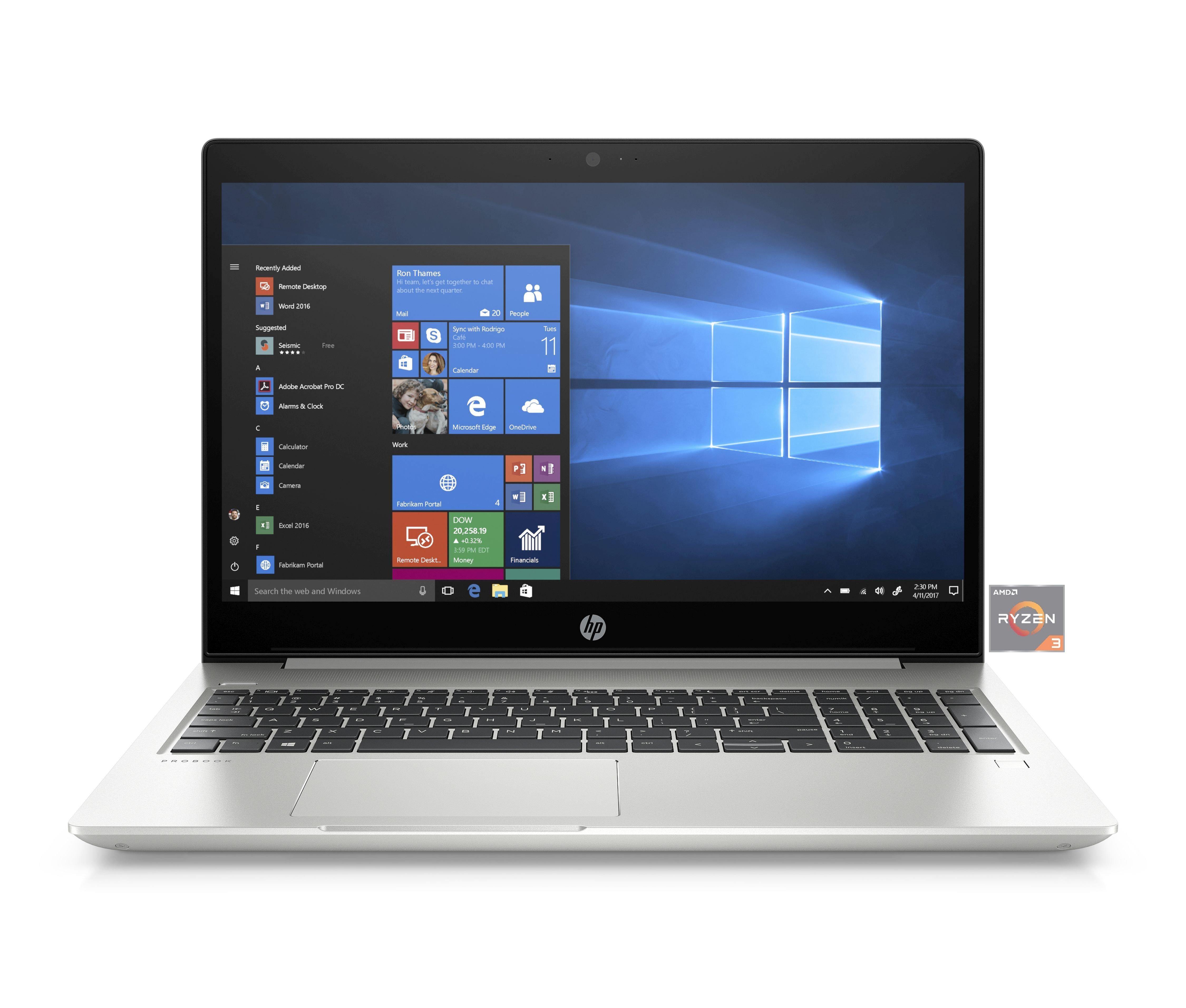 Für Ösis: HP ProBook mit 15,6 Zoll, Full-HD, IPS, Alu-Deckel, Tastaturbeleuchtung, Fingerabdruckscanner