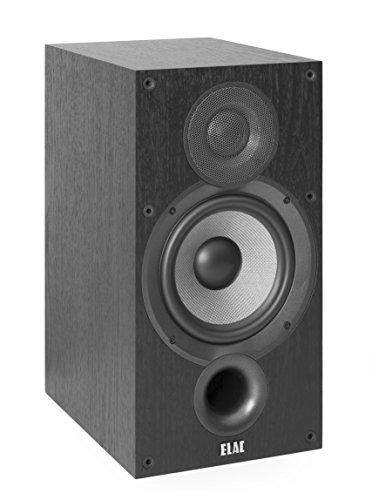 ELAC Debut B6.2 Regal-Lautsprecher Schwarz dekor (Paar)
