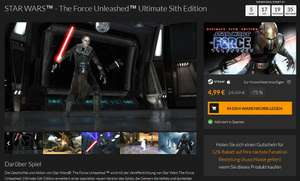 STAR WARS™ - The Force Unleashed™ Ultimate Sith Edition für Mac