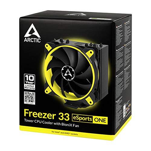 Arctic Freezer 33 eSports ONE gelb