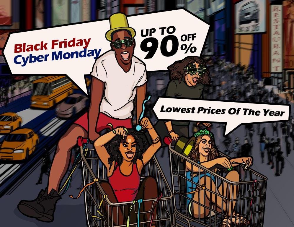 DHgate Coupons auf alle Artikel und bis zu 90% Rabatt [ Black Friday / Cyber Monday ]