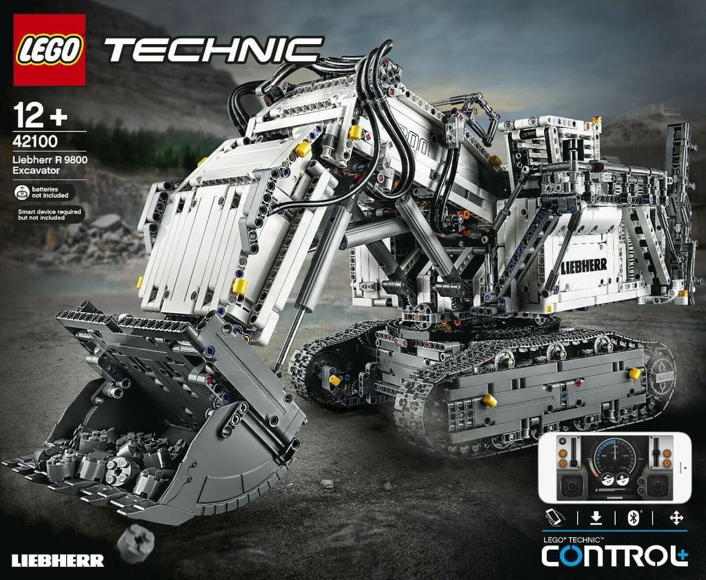LEGO 42100 Liebherr R9800 Bagger