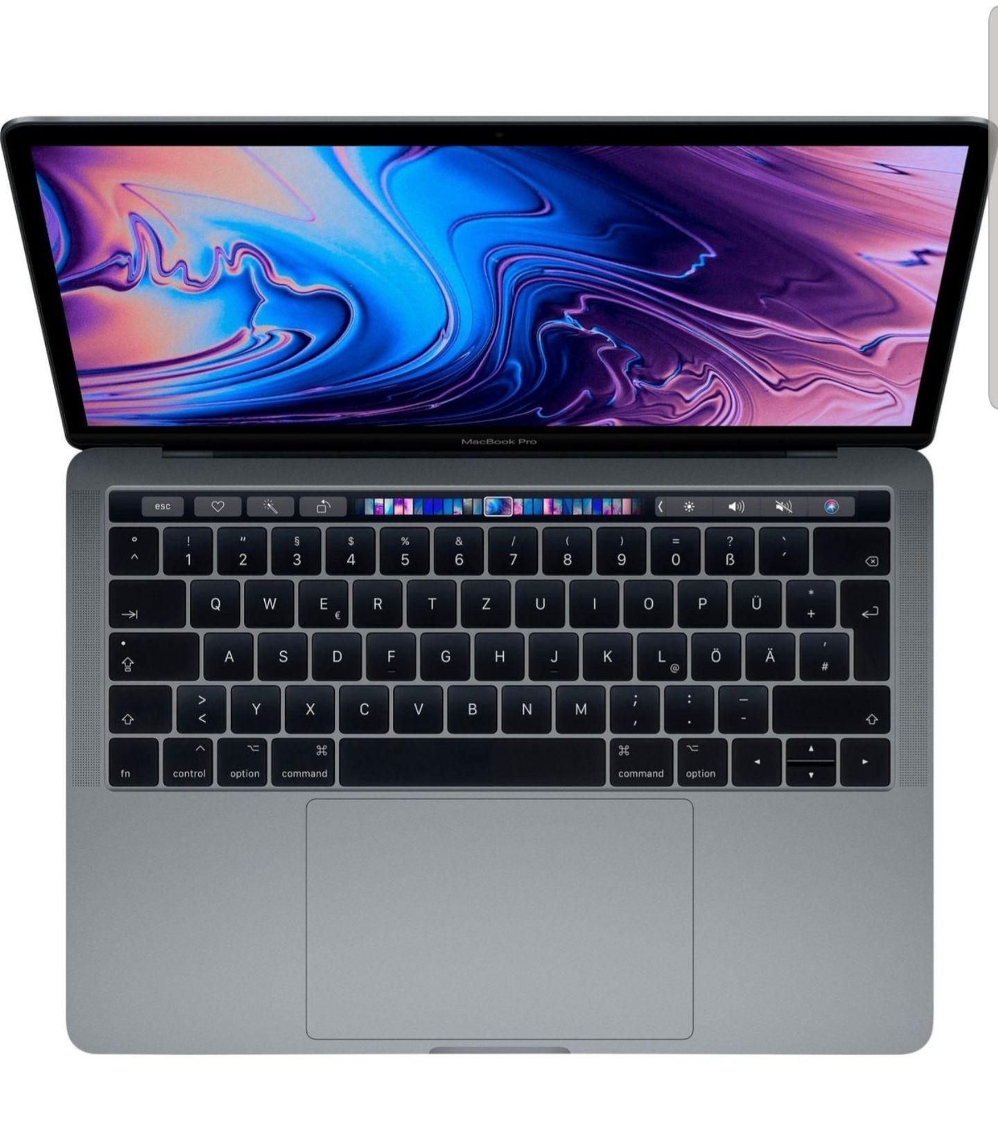 "Apple MacBook Pro 13"" (2019) Touch Bar Notebook (33,78 cm/13,3 Zoll, Intel Core i5, 512 GB SSD) Cashback 34995 PointsmitRakuten Club Karte"