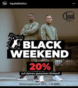 -20% bei Loyal-Athletics