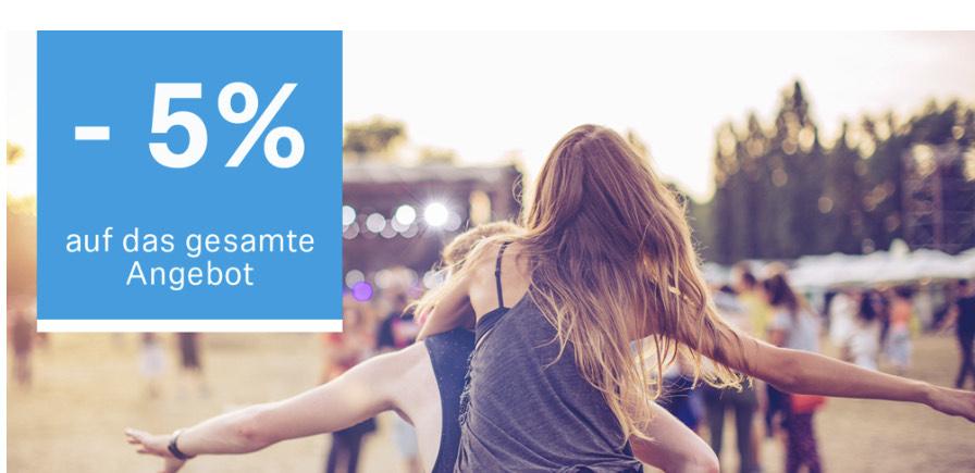 5% Rabatt zusätzlich bei Sennheiser im Outlet