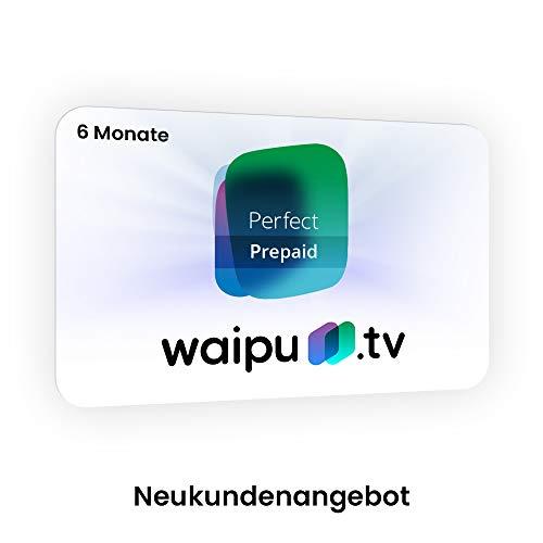 waipu.tv Perfect-Paket 6 Monate für 29,97€ (Amazon)