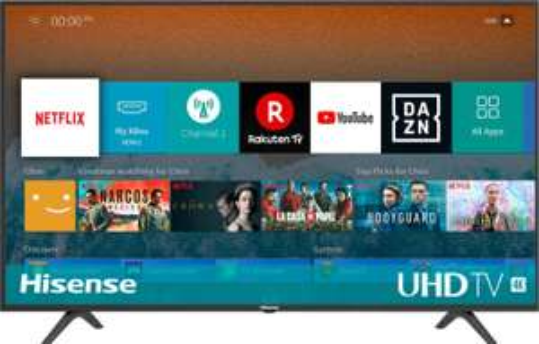 Hisense H55BE7000 138 cm (55 Zoll) Fernseher (4K Ultra HD, HDR, Triple Tuner, Smart-TV, Standard)