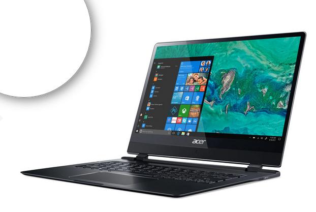 """LÜFTERLOSES Acer Swift 7 (SF714-51T-M2FT) 14"""" zum BESTPREIS für 806,14 € bei NBB statt sonst um 1.000 €"""