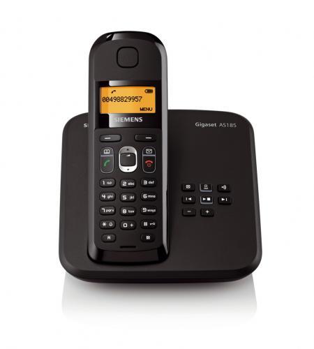 null.de: SIEMENS GIGASET AS185 OVP TELEFON SCHNURLOS MIT AB CLIP für 20 Euro