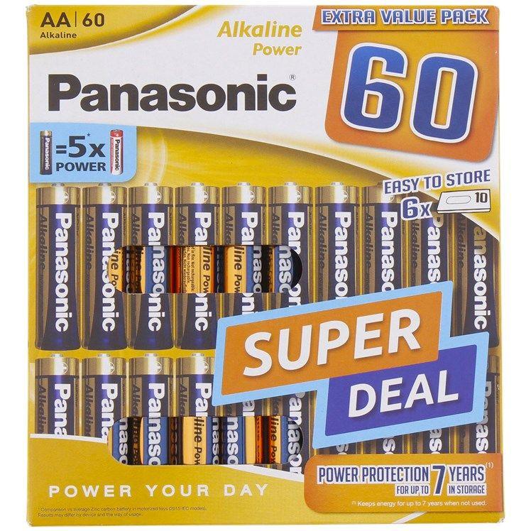 [Action - offline] Panasonic AA oder AAA Alkaline Batterien 60 Stück