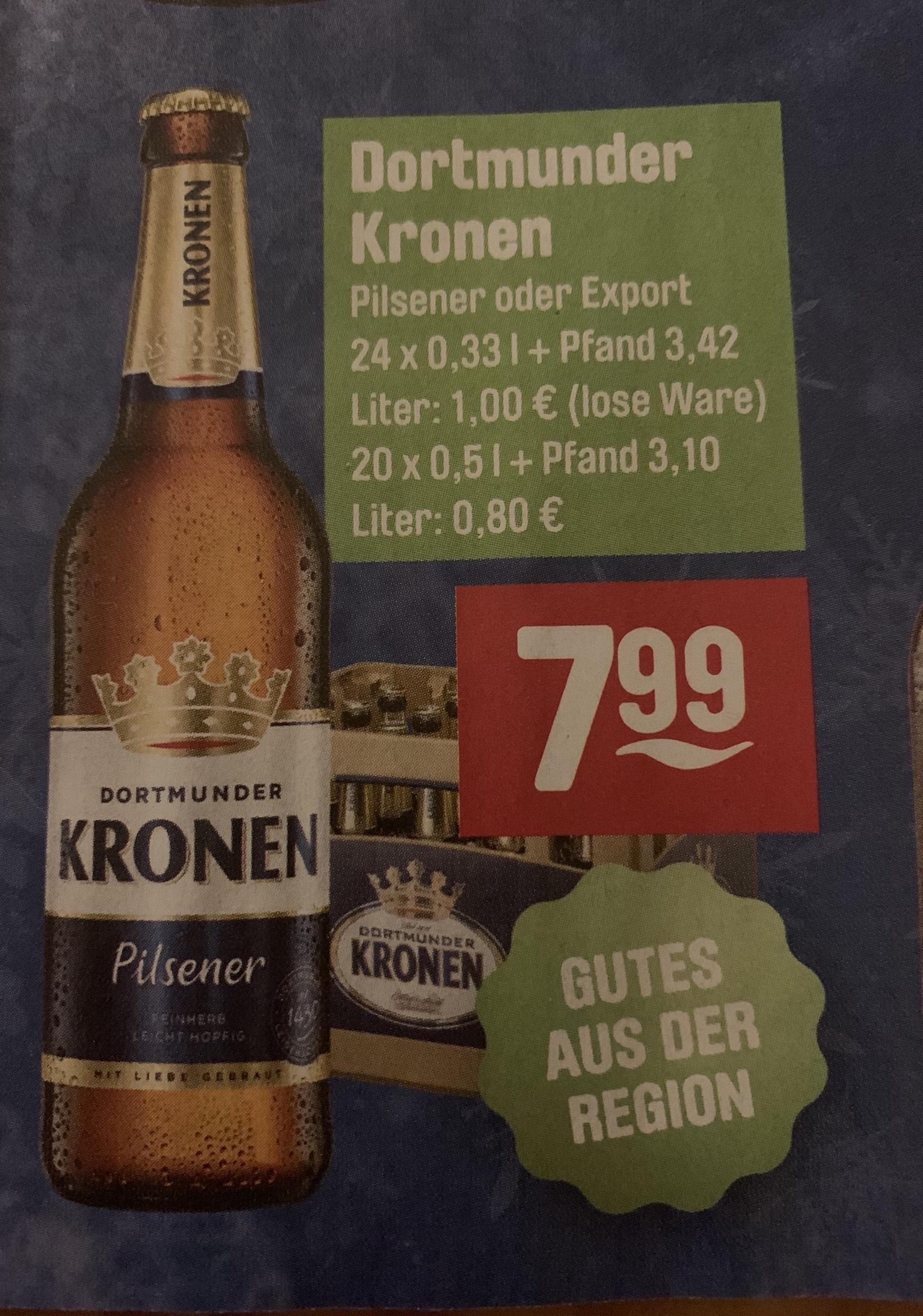 """LOKAL """"HERNE"""" Dortmunder Kronen Pils oder Export bei Getränke Hoffmann (Eventuell auch im Ruhrgebiet)"""