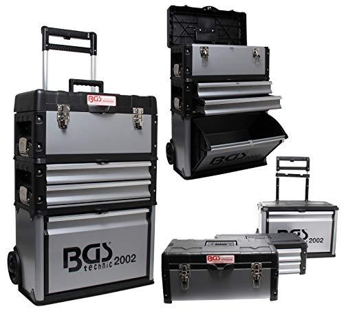 BGS 2002   Montagewagen   fahrbar   Werkzeug-Koffer leer/rollende Werkstatt   abschließbar