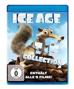 Ice Age 1-5 Collection (Blu-ray) für 16,97€ (Amazon Prime)