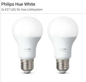 Philips Hue E27 Doppelpack white