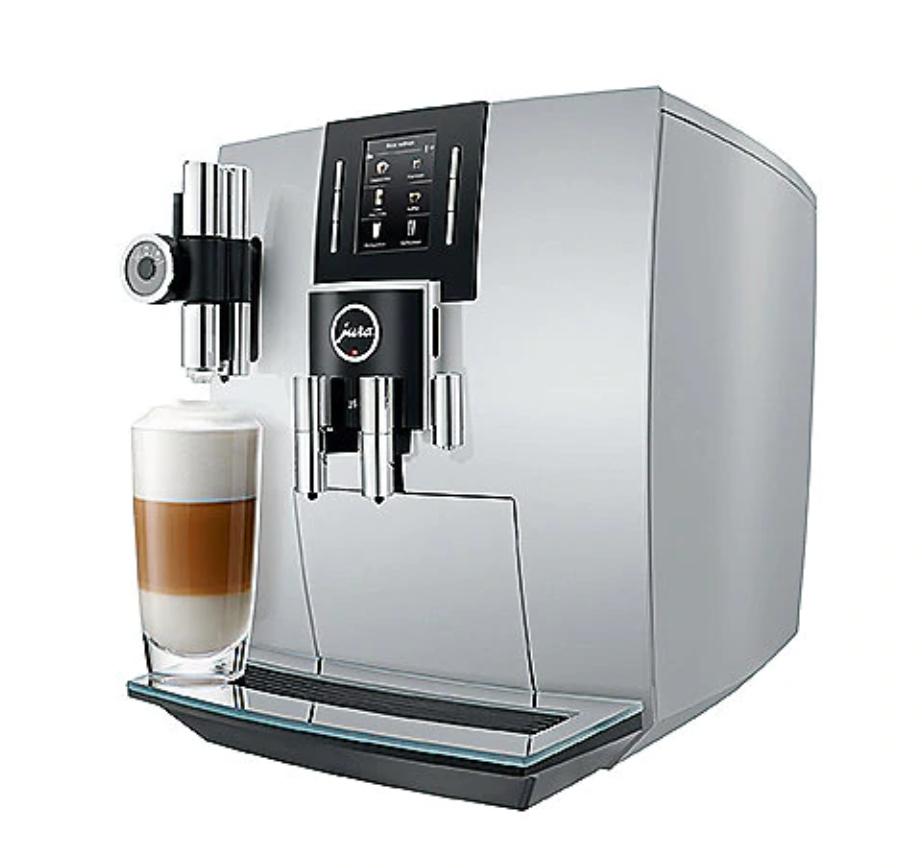 JURA J6 brilliantsilber Kaffeevollautomat