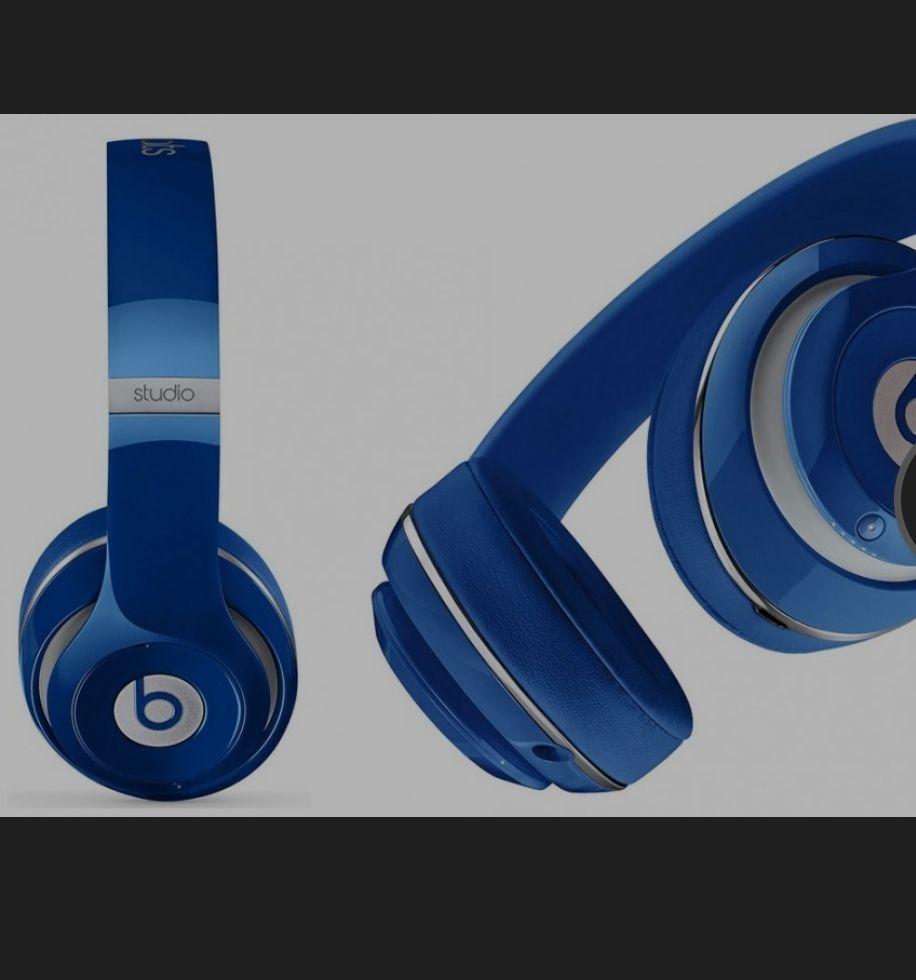 Beats bei Dr. Dre Beats Studio 2,0 Over-Kopfhörer,Blau +1355 Superpoints & 3,5% Cashback by SHOOP