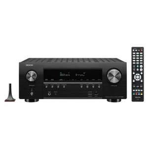 Denon AVR-S950H - 7.2 Netzwerk A/V Receiver (2x HDMI-Out / eARC, Dolby Atmos, HDCP2.3, AirPlay 2, Sprachsteuerung, Audyssey MultEQ)