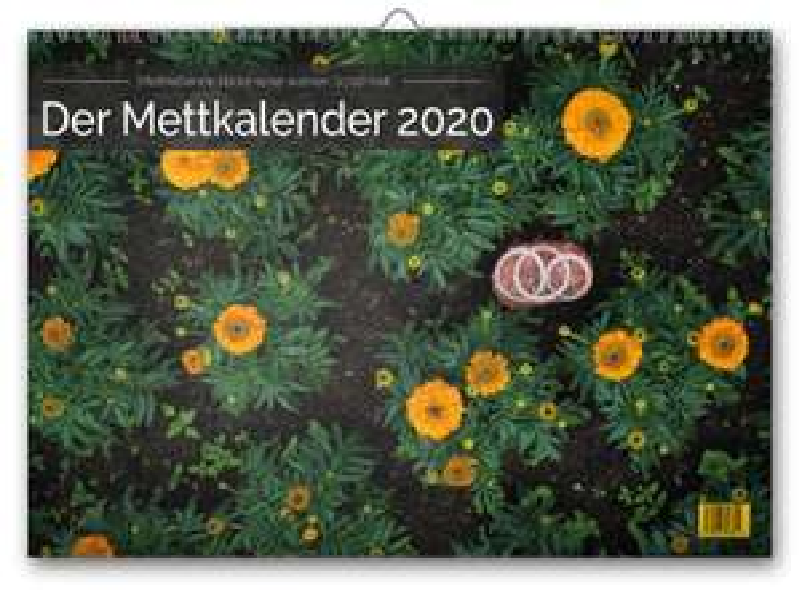 Lustiger Mettkalender - Jahreskalender 2020